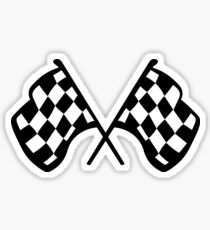 Grand Prix Flags Sticker