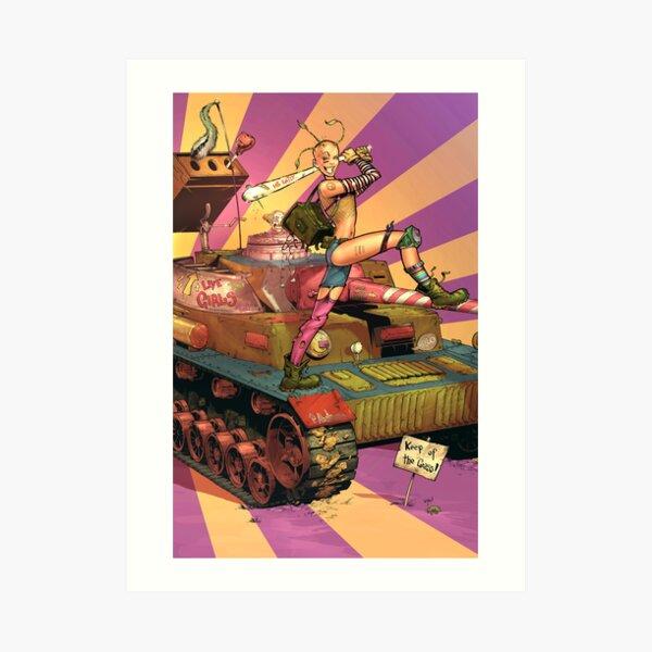 Tank Girl Print Art Print