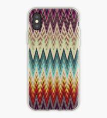 Zig Zag Striped Pattern iPhone Case