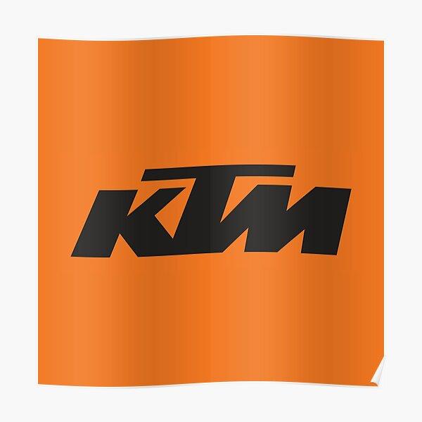 Logo KTM Poster
