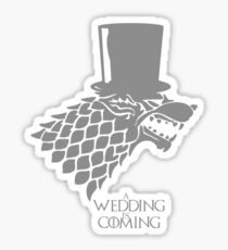 Sir, A Wedding Is Coming Sticker