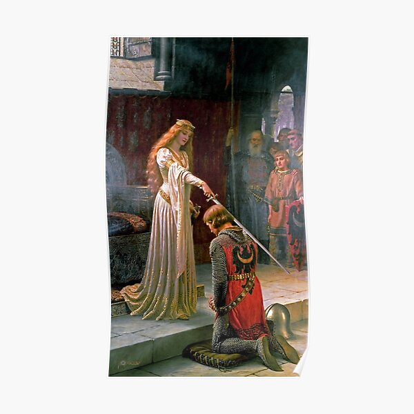 The Accolade - Edmund Blair Leighton Poster