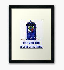 Who, Who, Who, Merry Christmas  Framed Print