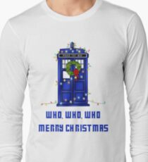 Who, Who, Who, Merry Christmas  T-Shirt