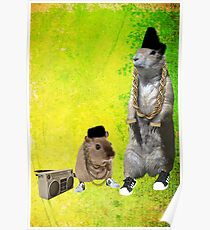 B-Boy Rodents Poster