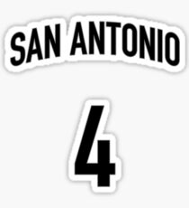 San Antonio #4 Sticker