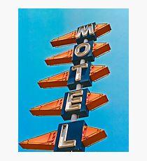 Motel Photographic Print