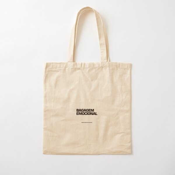 Bagagem Emocional Cotton Tote Bag