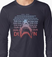 Jaws Theme Swimming Long Sleeve T-Shirt