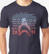 Jaws Theme Swimming Slim Fit T-Shirt
