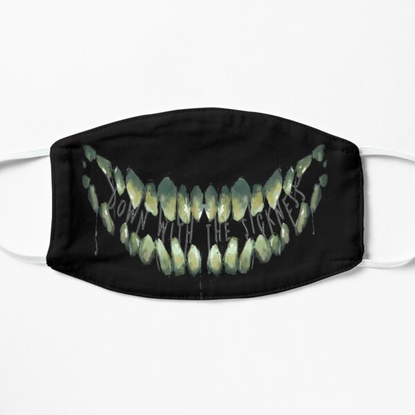 Down With The Sickness Grin Flat Mask