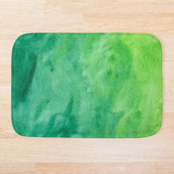 Mean and Green Bath Mat