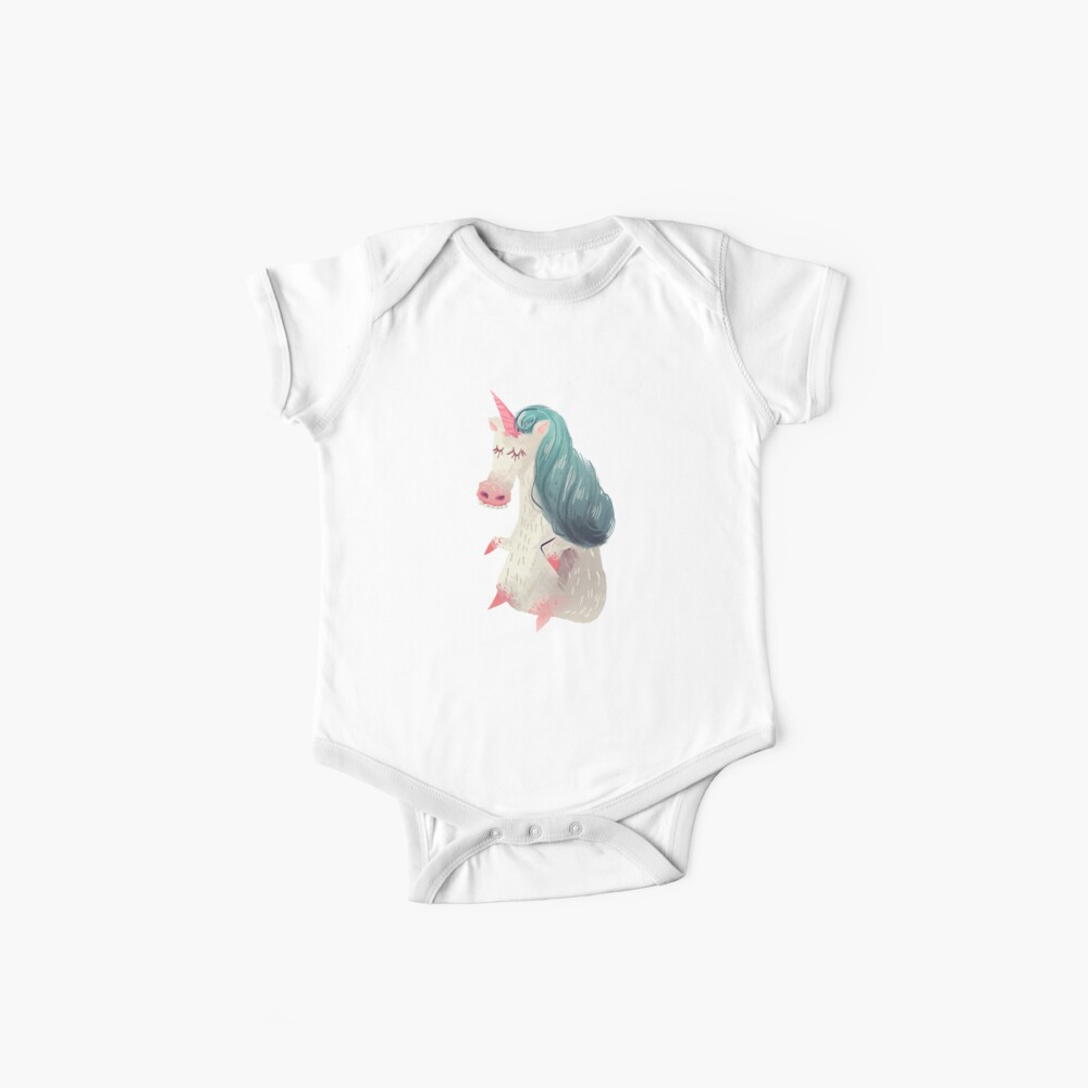 Unicorn Pony Baby One-Piece