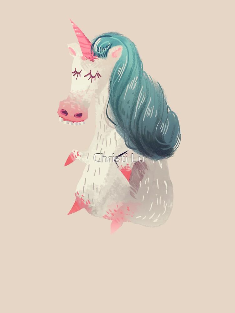 Unicorn Pony by christisocool