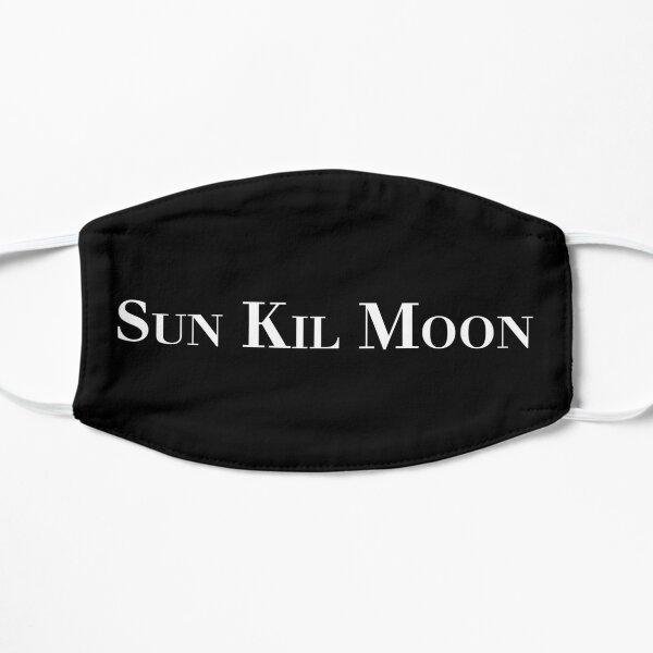 Sun Kil Moon - Typeface Logo - Mark Kozelek - Red House Painters Flat Mask
