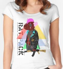 RAT PACK Women's Fitted Scoop T-Shirt
