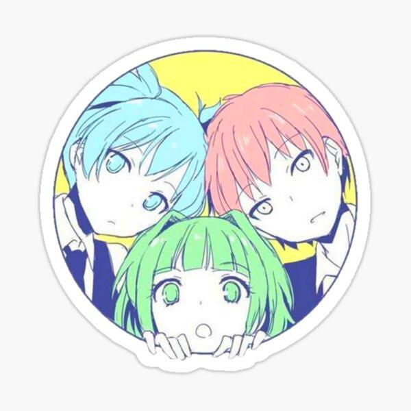 Karma X Nagisa X Kayano : Assassination classroom Sticker