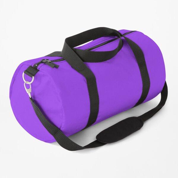 Brilliant Glossy Luminous Purple Duffle Bag
