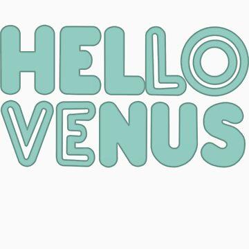 Hello Venus: Would You Like Some Tea?(Logo) by ominousbox