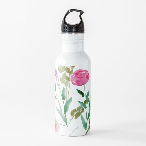 Country Bouquet Water Bottle
