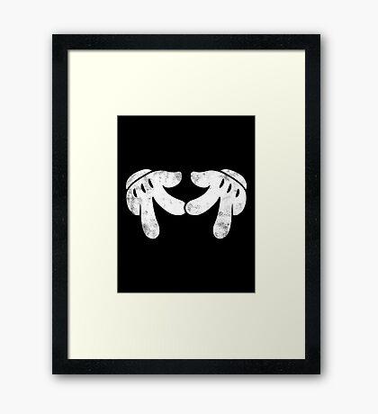 Reppin Mice Framed Print