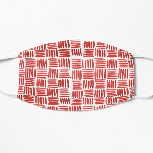 Red Parquet Mask