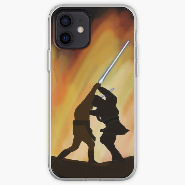 Brothers Brawl on Fire Coque souple iPhone