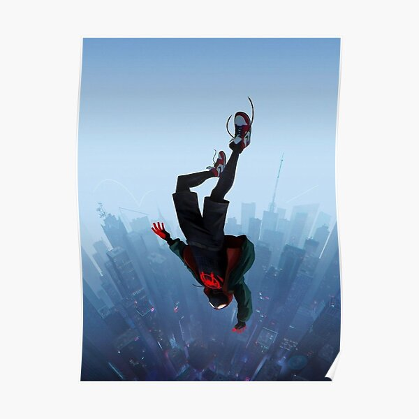 Jump Miles Morales Póster
