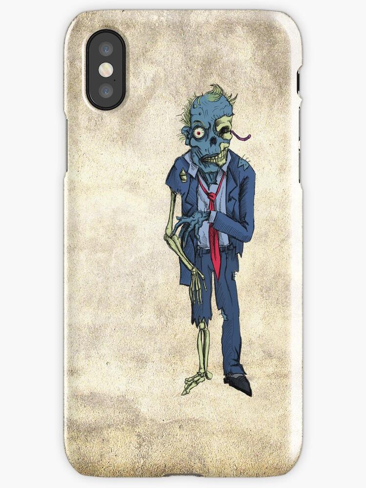 Zombie in a suit by Matt Corrigan