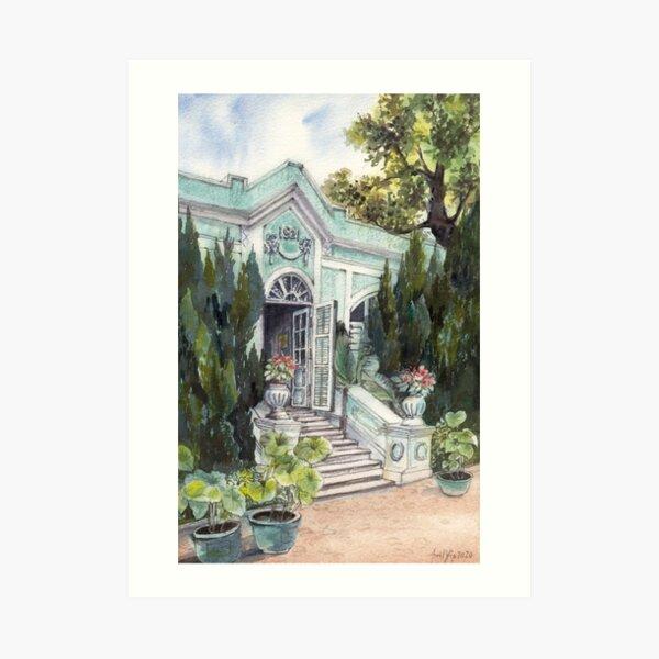 Taipa House Museum in Macau Art Print