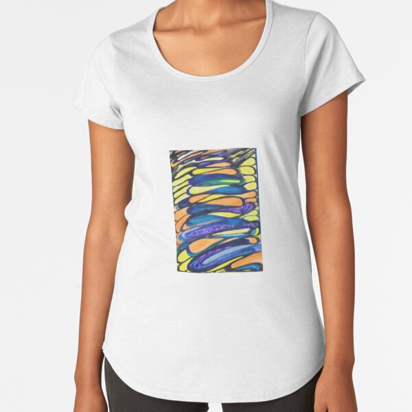 Abstract Anything Premium Scoop T-Shirt