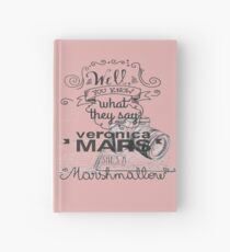 Veronica Mars- Marshmellow Hardcover Journal