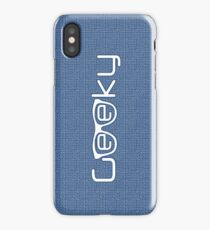 Geeky boy iPhone Case