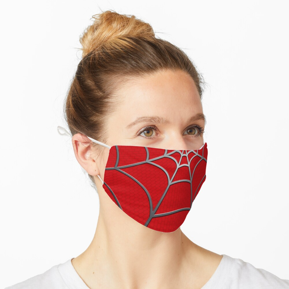 Spider Web RED Tobey Mask
