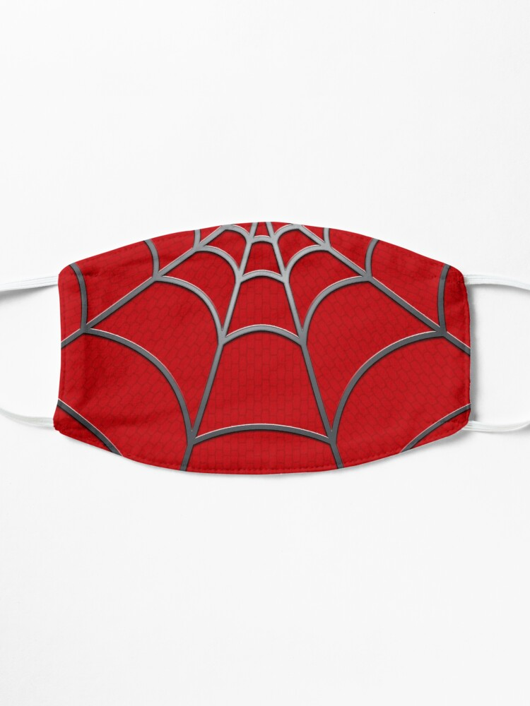 Alternate view of Spider Web RED Tobey Mask