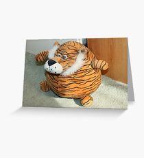 Tiger DoorStop Greeting Card