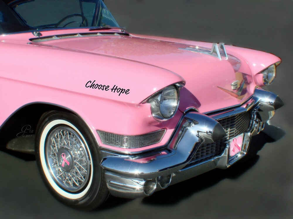 """""""Pink Cadillac For The Cure"""" by Gail Jones"""