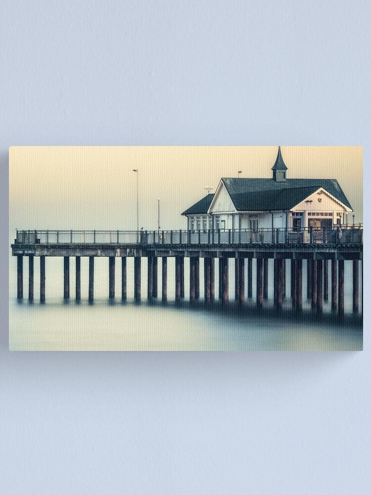 Alternate view of Southwold Pier Canvas Print
