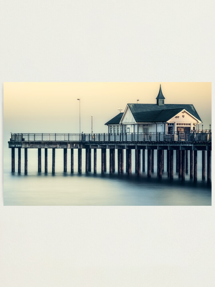 Alternate view of Southwold Pier Photographic Print