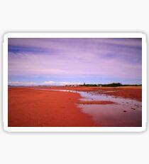 A Sandy Beach Moment Sticker
