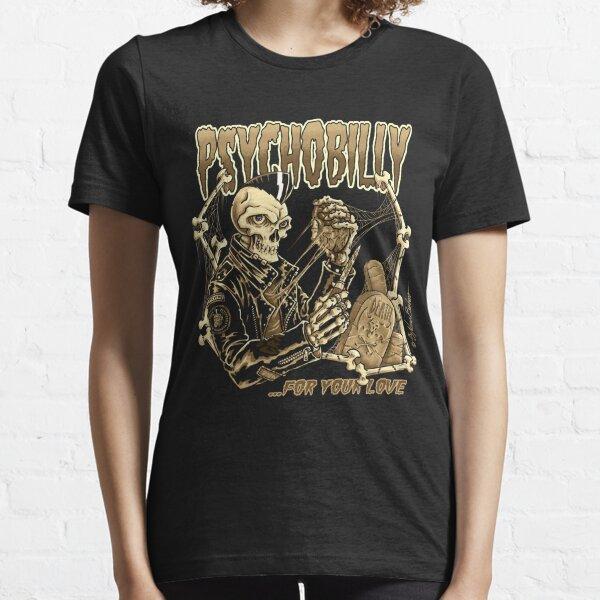 Psicobilly para tu amor II Camiseta esencial