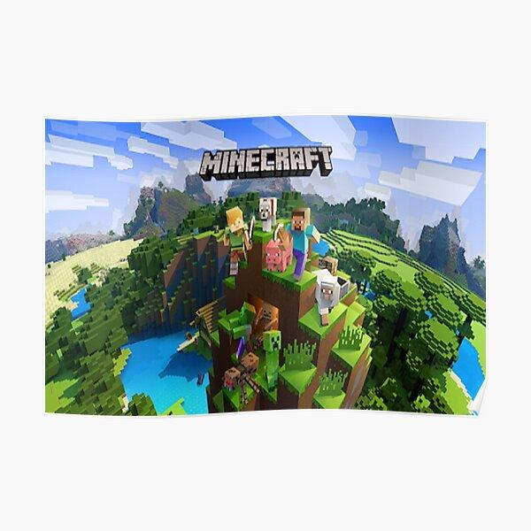 Minecraft PE Background Poster