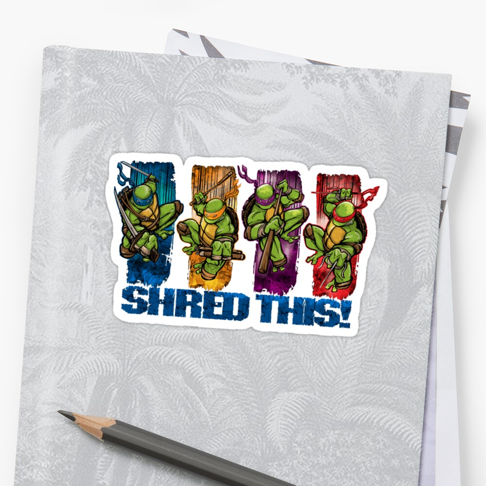 Shred This! by Patrick Scullin