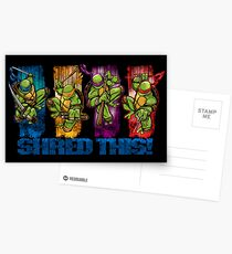 Shred This! Postcards