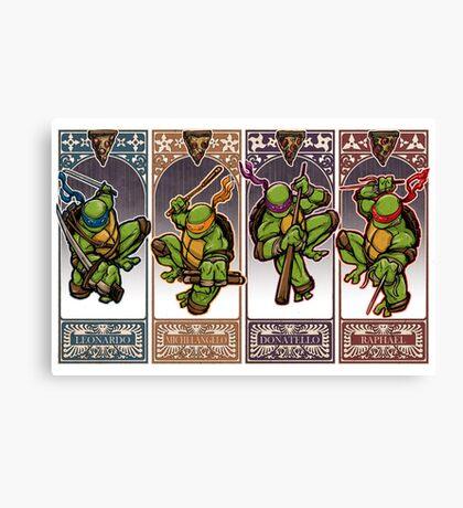 Ninja Masters Canvas Print