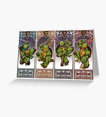 Ninja Masters Greeting Card