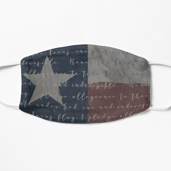 The Texas Pledge w/ Flag V2 Mask