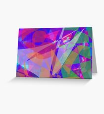 Lights in Space Greeting Card