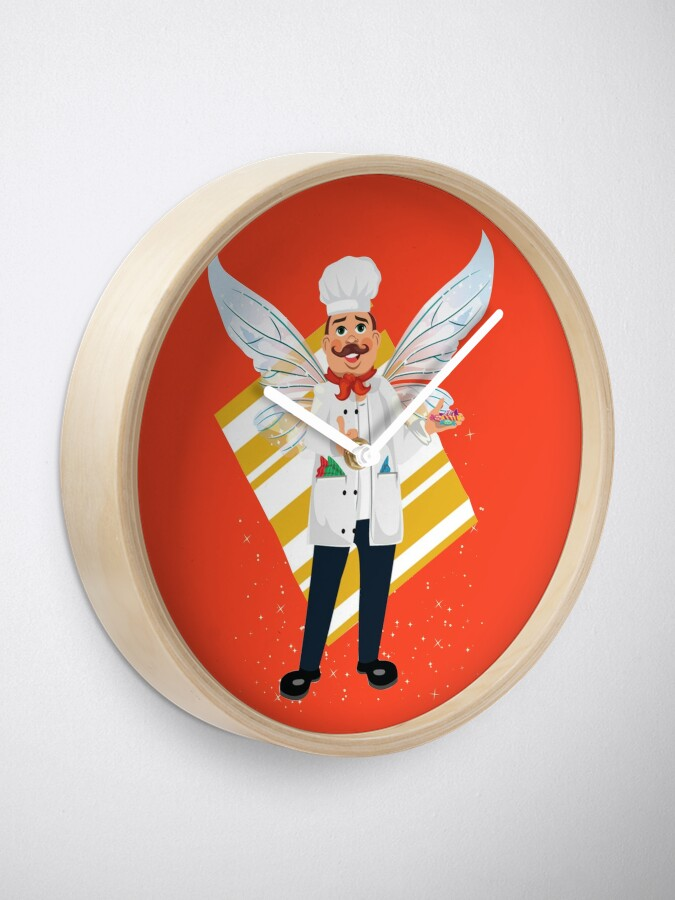 Alternate view of Bubba The Head Candy Taster Fairy™ Clock