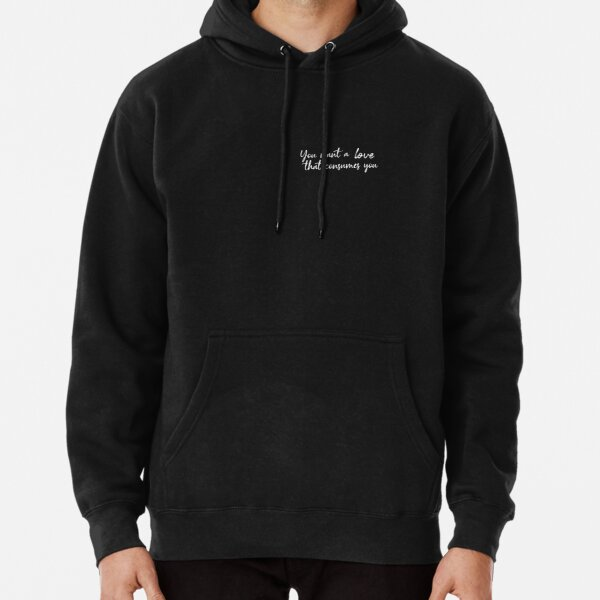 Damon Salvatore You want a love that consumes you Sudadera con capucha
